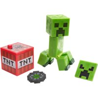 Minecraft Comic Maker Creeper Action Figure with 2 Faces