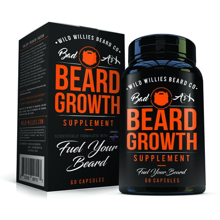 Glowing Products (Wild Willies Beard Growth Supplement with Biositol AsX, 60)