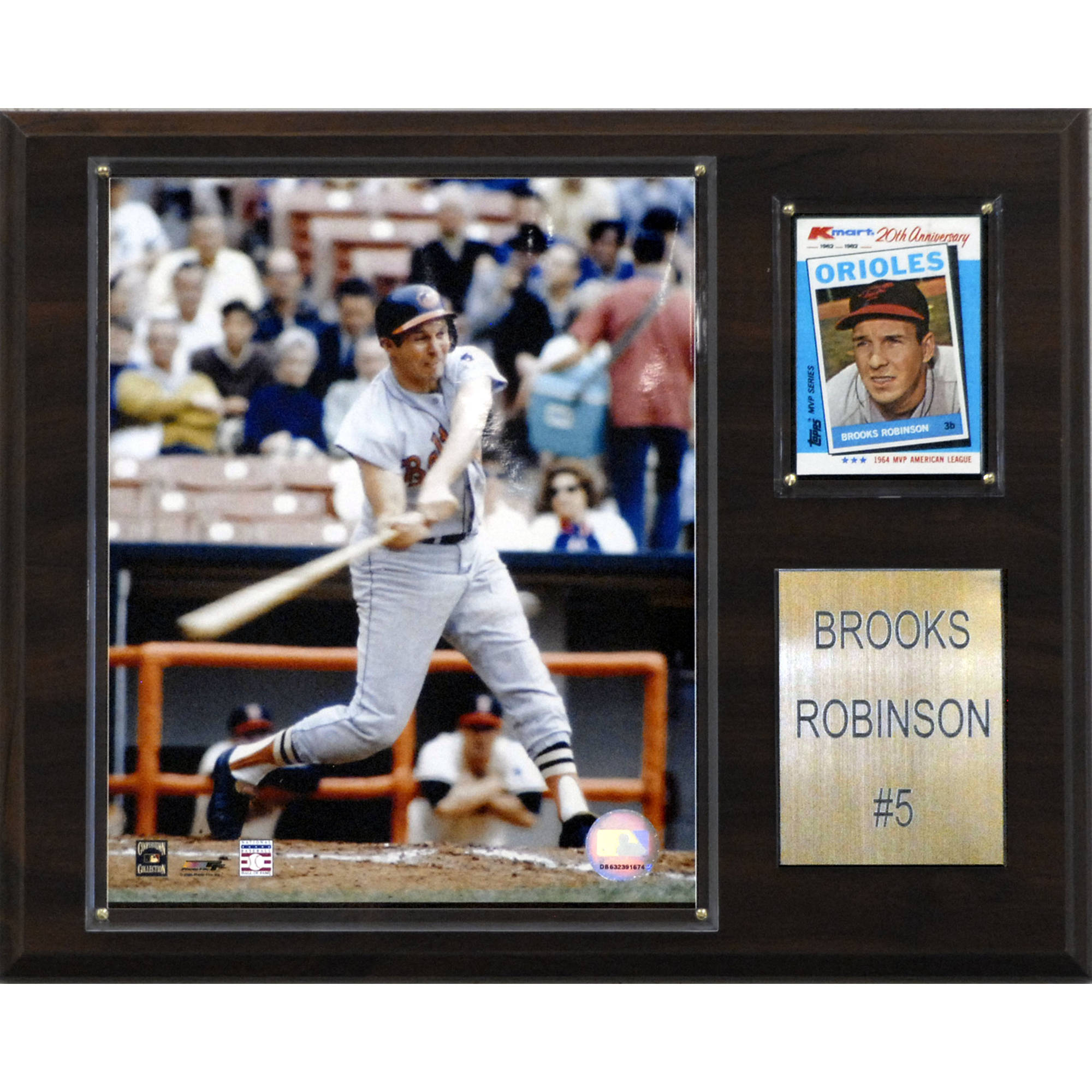C&I Collectables MLB 12x15 Brooks Robinson Baltimore Orioles Player Plaque