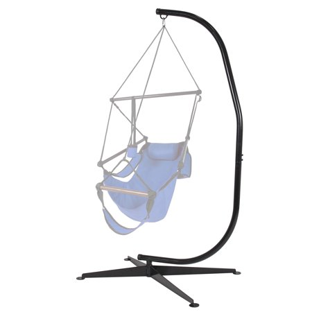 Hammock chair c stand solid steel for hammock air porch for Hammock chair stand plans