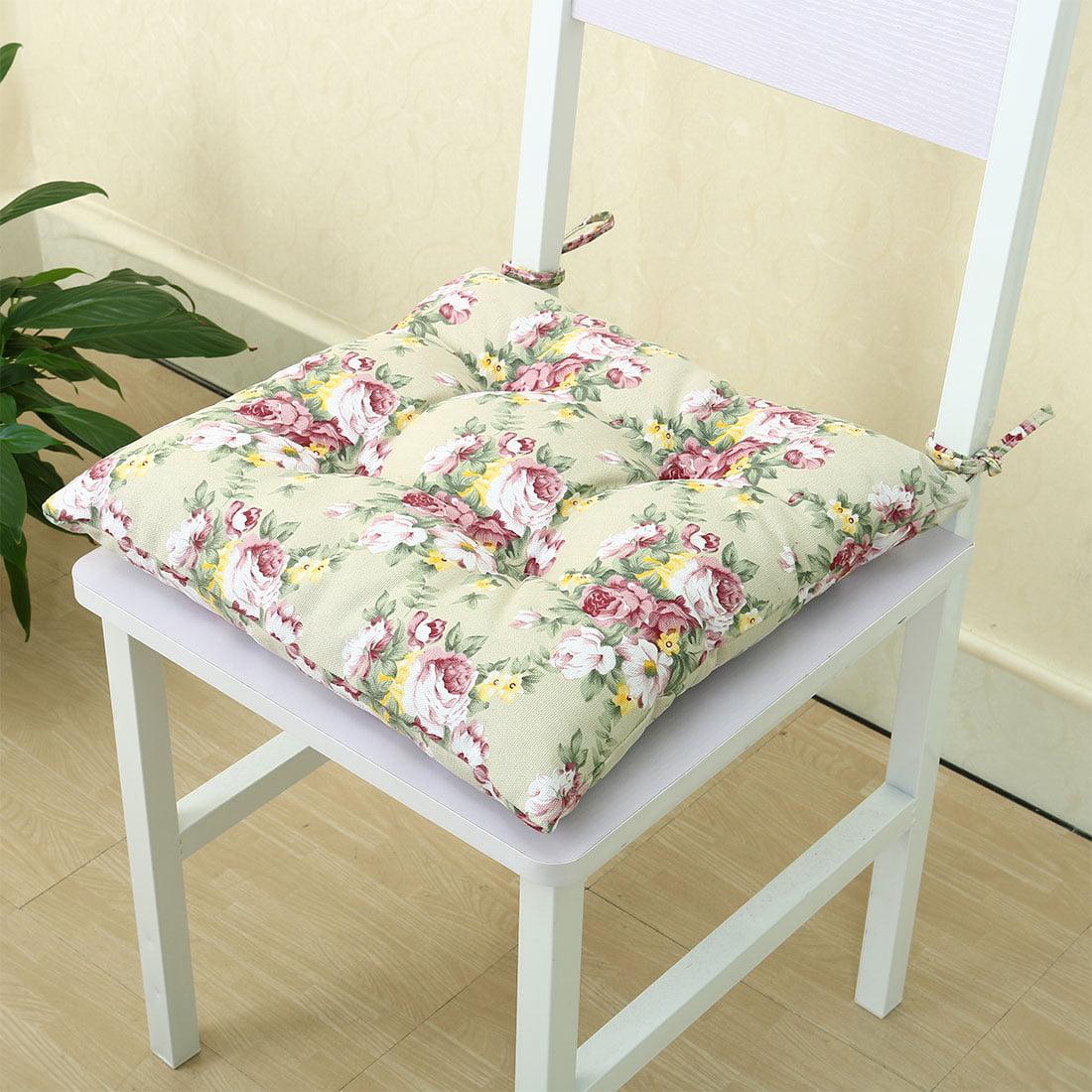 PiccoCasa Canvas Cover Cashmere Universal Chair Cushion Pads