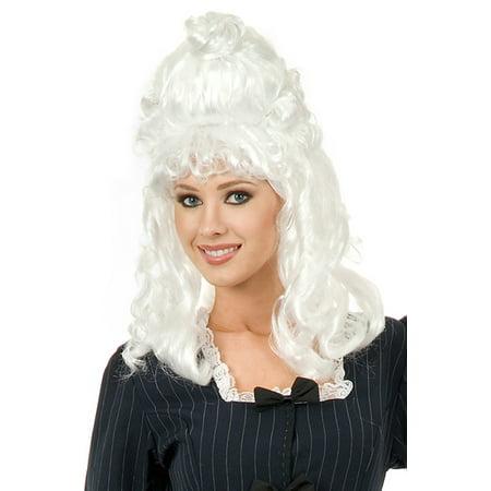 Martha Washington Colonial Wig - George Washington Without Wig