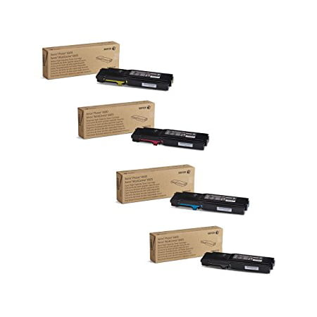 (Xerox Phaser 6600, WorkCentre 6605 High Capacity Toner Cartridge Set)