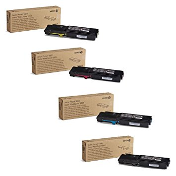 Xerox Phaser 6600, WorkCentre 6605 High Capacity Toner Cartridge Set