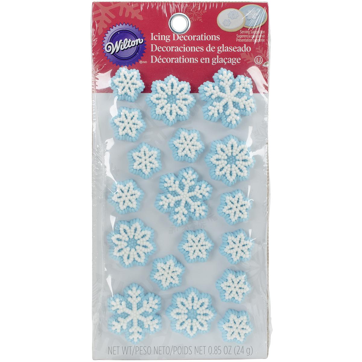 Wilton Snowflake Icing Decorations