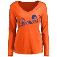 Boise State Broncos Women's Dora Long Sleeve T-Shirt - Orange