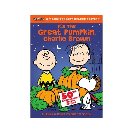 It's The Great Pumpkin, Charlie Brown (Remastered Deluxe Edition) (DVD) - Charlie Brown Halloween F