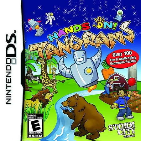 Hands on Tangrams - Nintendo DS (Best Ds Games For Adults)