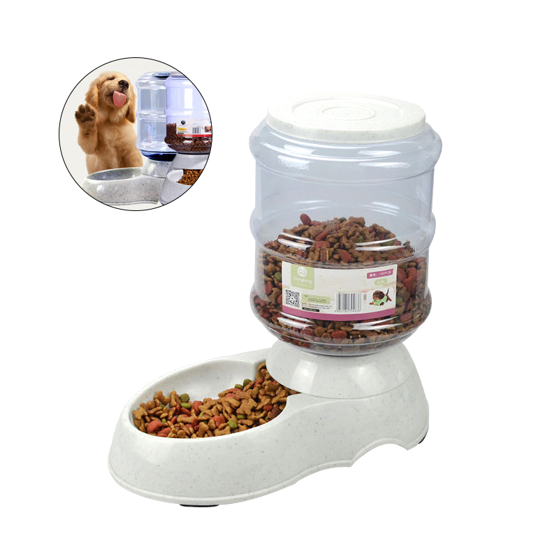 Automatic Pet Food Dispenser 3.5L Water Food Feeder For Cat Dog Feeding