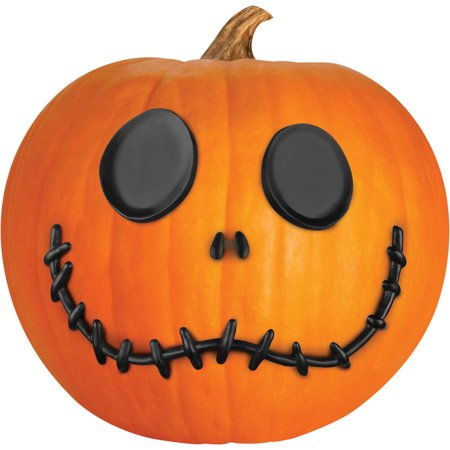 Jack Skellington Pumpkin Push In Halloween Decoration