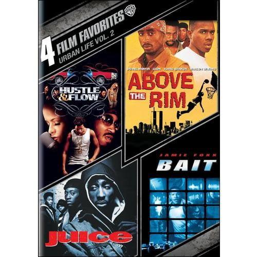 4 Film Favorites: Urban Life 2 - Hustle & Flow / Above The Rim / Bait / Juice (Widescreen)