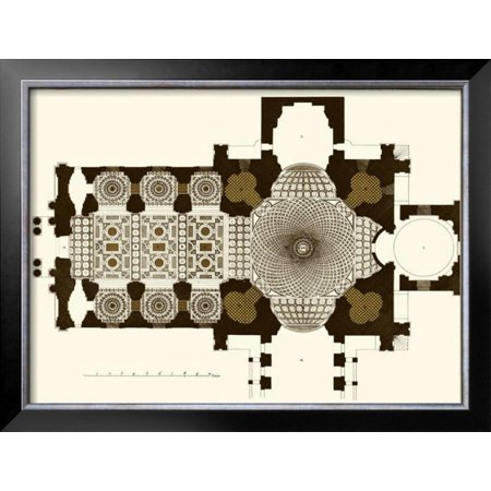 French Marquetry II Framed Art Print Wall Art  -