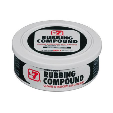 Heavy Duty Rubbing Compound - Cyclo Industries 08610 10-oz. #7 Rubbing Compound