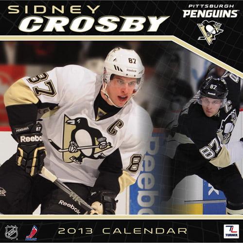 "Turner Licensing 2013 12"" x 12"" Player Wall Calendar, Pittsburgh Penguins Sidney Crosby"