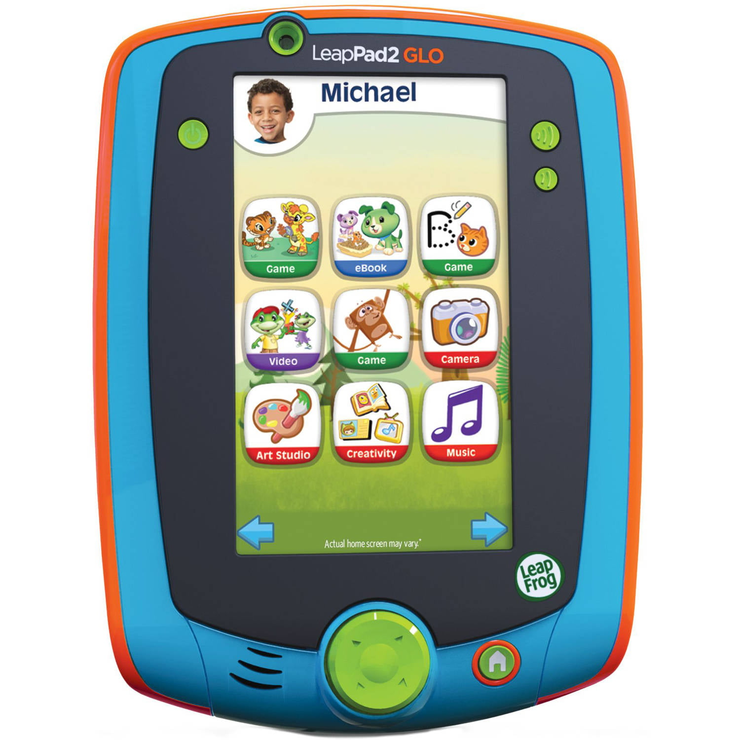 LeapFrog LeapPad Glo Learning Tablet, Teal - Walmart.com ...