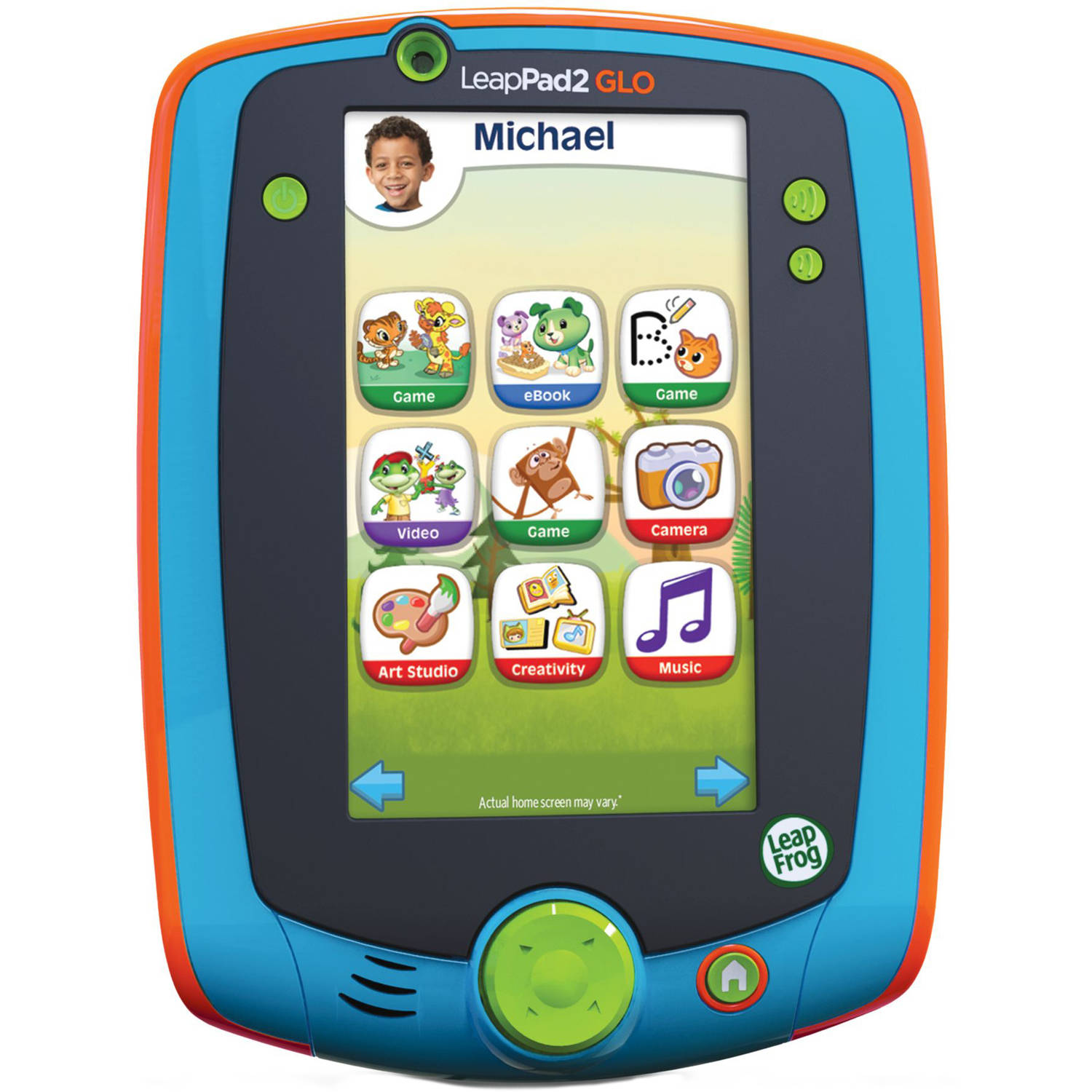 LeapFrog LeapPad Glo Learning Tablet, Teal