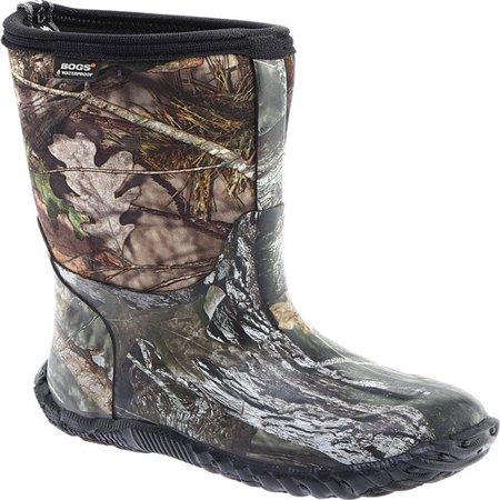 Bogs Classic Kids High Boot Mossy Oak Breakup Size 3