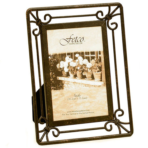 Fetco Home Decor Tuscan Linwood Picture Frame
