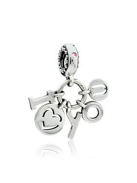 Pandora I Love You Dangle Charm 796596FPC