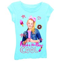 Nickelodeon Girls' Jojo Siwa Short Sleeve T-Shirt (Medium, Cancun)