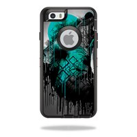 MightySkins Skin Compatible With OtterBox Defender iPhone 6/6S - Abstract Horizon | Protective, Durable, and Unique Vinyl Decal wrap cover | Easy To Apply, Remove, and Change Styles | Made in the USA