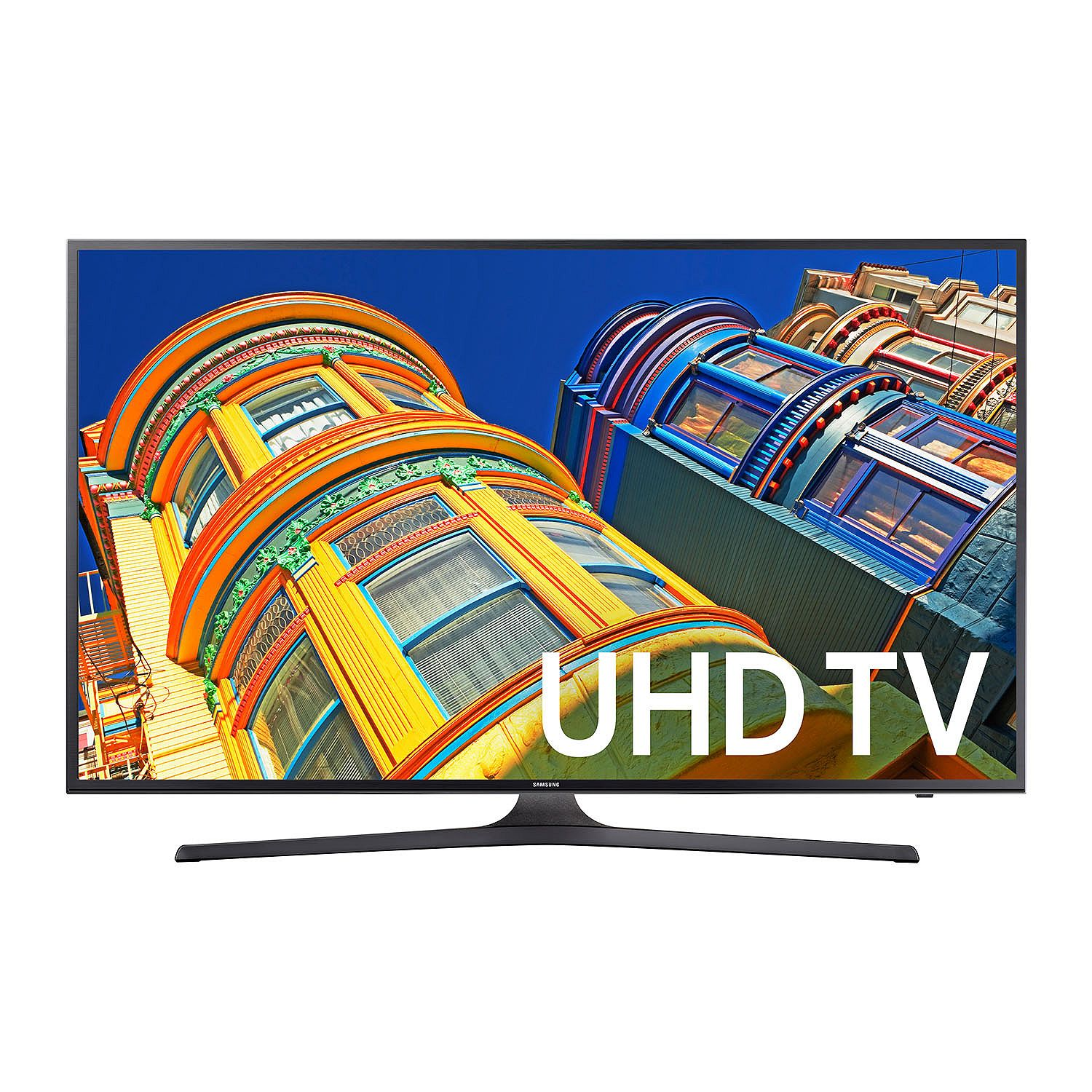 "Refurbished Samsung 70"" Class 4K Ultra HD, Smart, LED TV 2160p, 60Hz (UN70KU630DFXZA) by Samsung"
