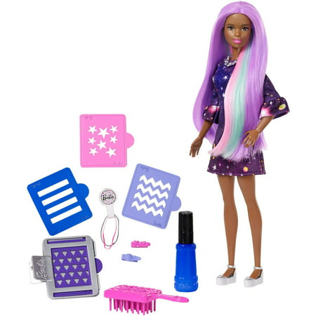 Barbie Doll Purse (Barbie Color Surprise Doll with Color-Changing Hair & Hair)