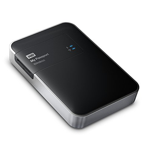 Western Digital My Passport Wireless 1tb Wi-fi Mobile Sto...