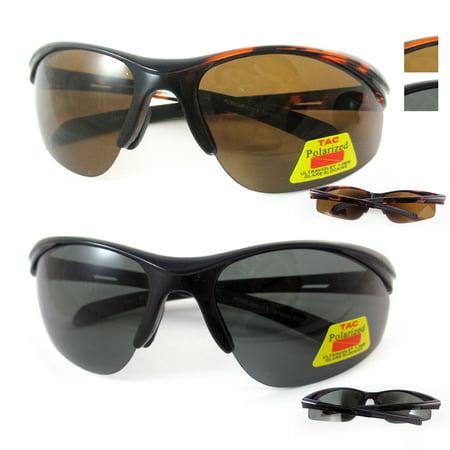 Mens Polarized Sunglasses Driving Glasses Night Vision Sports Fishing UV Eyewear
