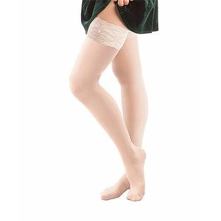 GABRIALLA Sheer Thigh Highs Stockings - Compression (23-30 mmHg): H-80