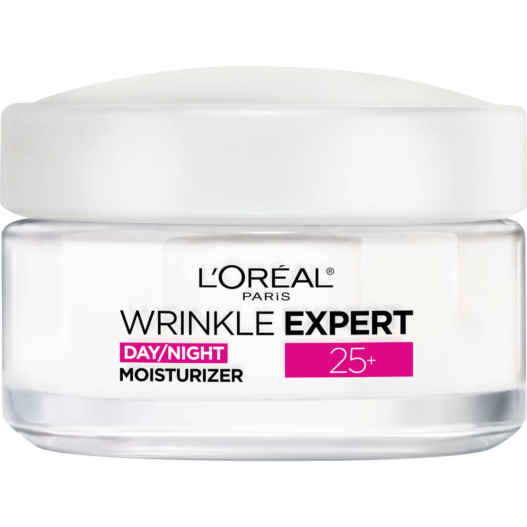 L'Oreal Paris Wrinkle Expert 25+ Day & Night Moisturizer, 1.7 oz - Walmart.com