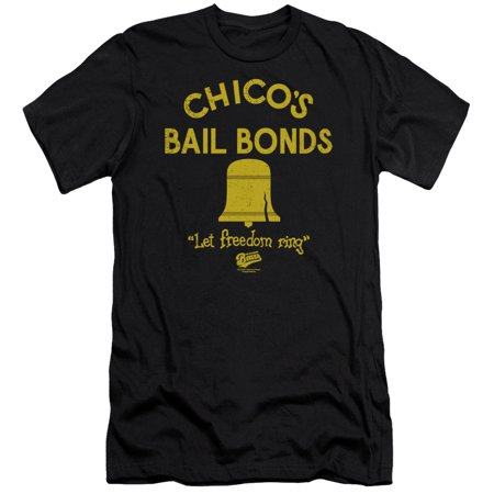 Bad News Bears Chicos Bail Bonds Officially Licensed Adult Slim Fit T Shirt