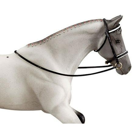 Pony Dressage Bridle - Breyer 1:9 Traditional Series Model Horse Accessory: Dressage Bridle