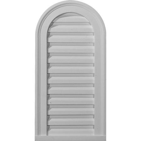 22 W x 24 H Cathedral Urethane Gable Vent Louver Functional