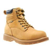 "Wolverine Men's Floorhand 6"" Waterproof Steel-Toe Work Boots"