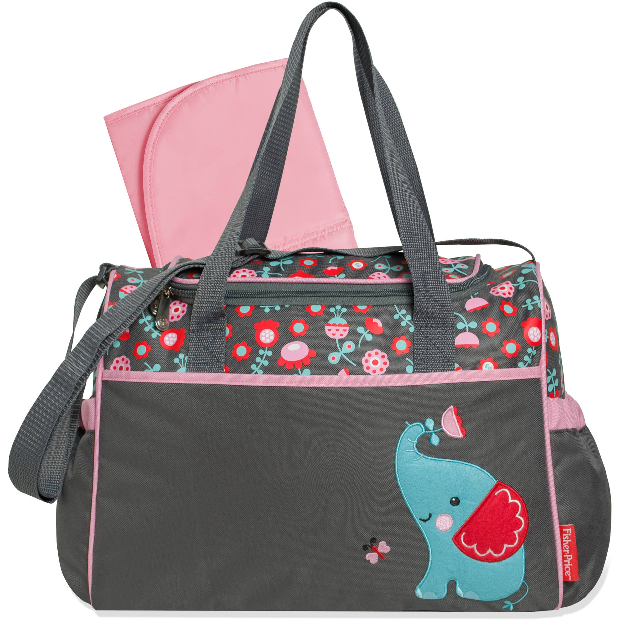 Fisher-Price Elephant Duffle Diaper Bag
