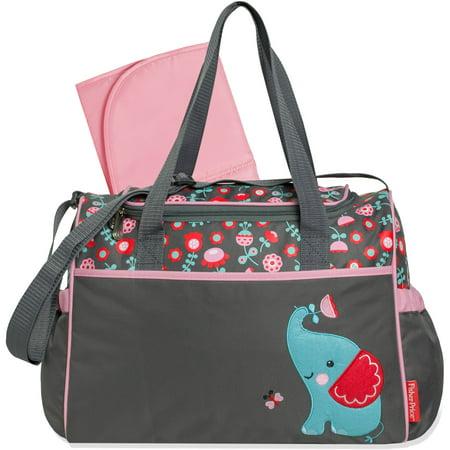 fisher price elephant duffle diaper bag. Black Bedroom Furniture Sets. Home Design Ideas