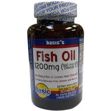 Basic Vitamin Fish Oil 1200Mg 90 Liquid Softgel