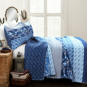 Royal Empire 3-Piece Reversible Full/Queen Quilt Set by Lush Decor