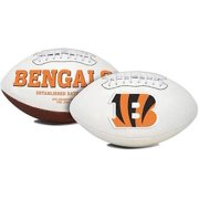 1509965405 Cincinnati Bengals Embroidered Signature Series Classic Football by The Licensed Products Company