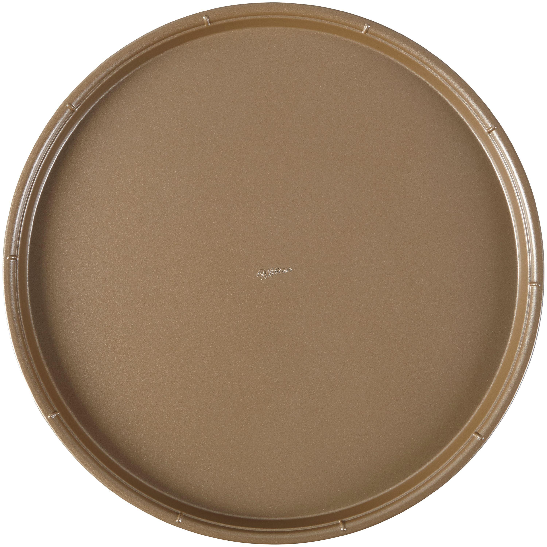 Wilton Ceramic Cut 14 Non Stick Metal Pizza Pan Walmart Com Walmart Com