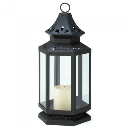 LARGE BLACK STAGECOACH LANTERN - Large Black Lanterns