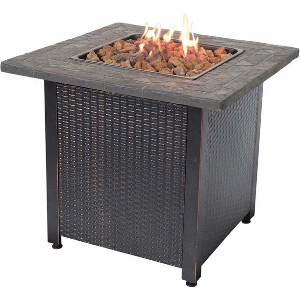 Endless Summer Lp Gas Outdoor Fireplace Walmart Com Walmart Com
