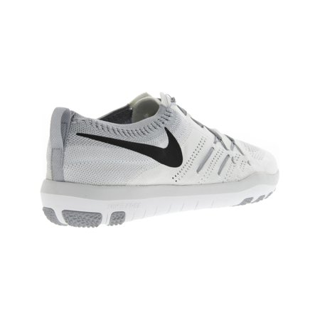 the latest e4adb 2dcdb Nike Women s Free Tr Focus Flyknit White   Black - Wolf Grey Ankle-High  Cross ...
