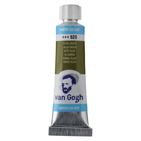Van Gogh Watercolor, 10ml Tube, Olive Green (Best Olive Green Paint Colors)