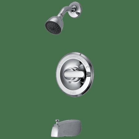 Delta Retail Core Monitor 13 Series Tub Shower in Chrome 134900