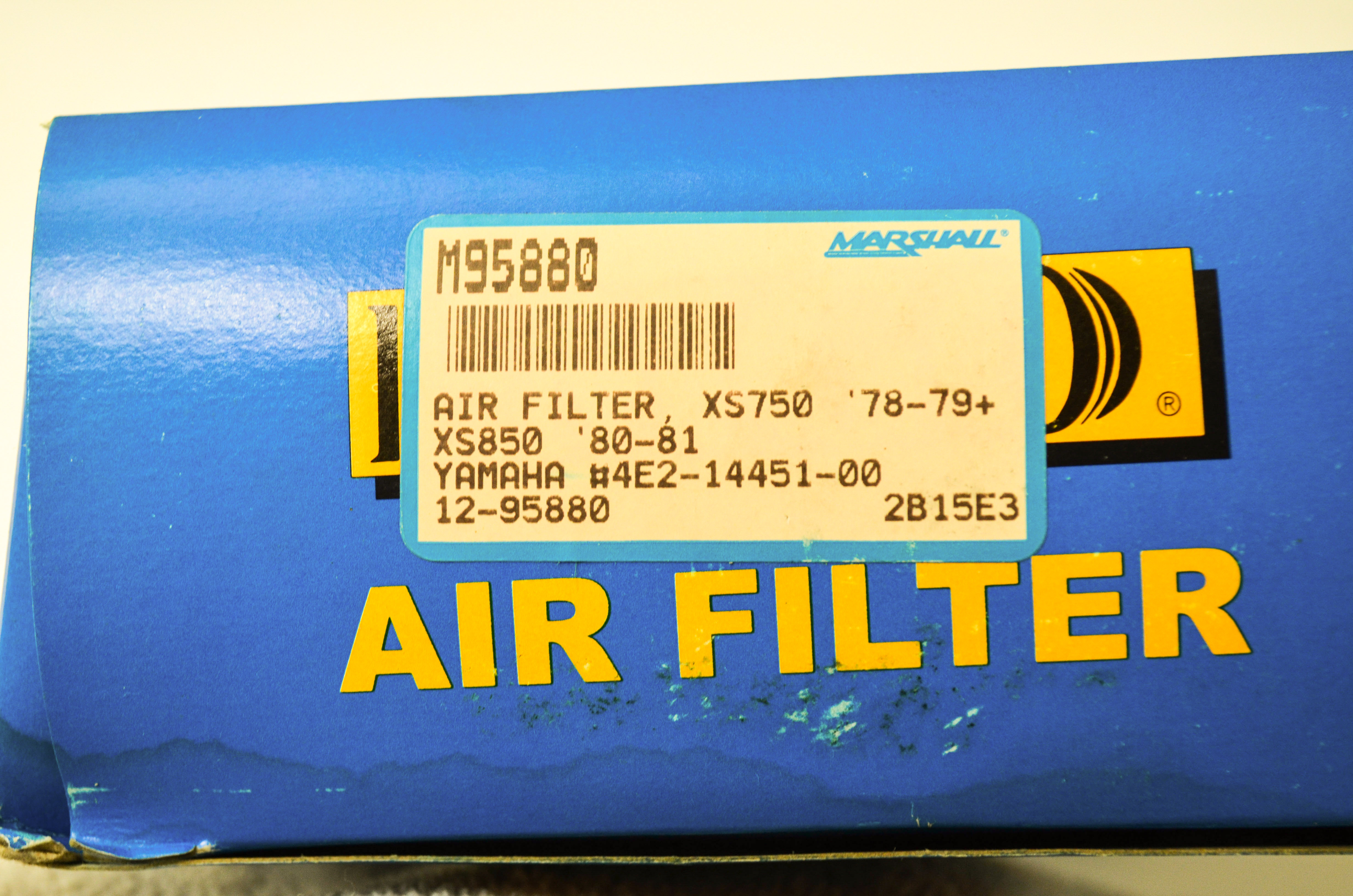 Yamaha XS850 OE Style Air Filter Cleaner 4E2-14451-00 Motors Auto ...