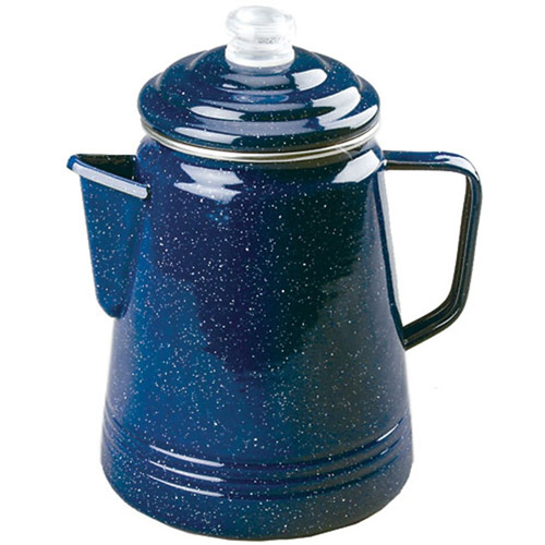 Coleman Enamelware 14-Cup Coffee Percolator