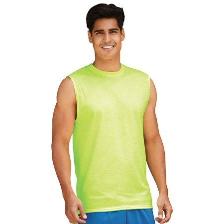 Jerzees Men's Dri-Active Sleeveless Shooter T-Shirt