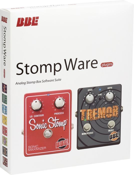 BBE STOMP WARE Stomp Box Electric Guitar Pedal Software by BBE